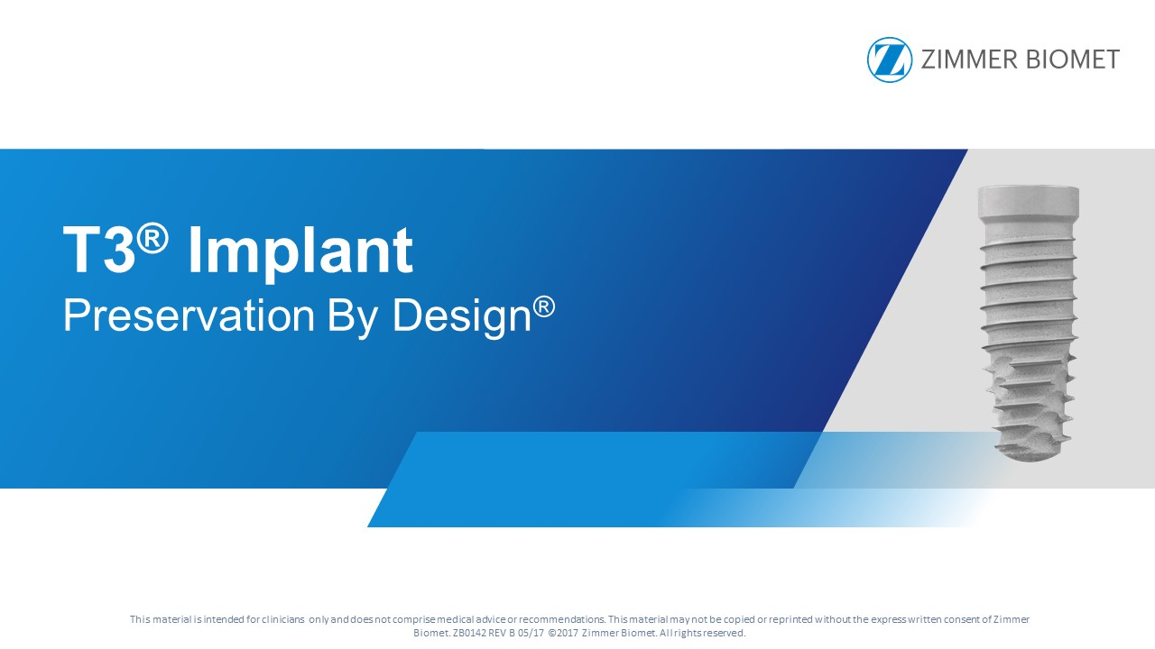 T3 Tapered Implant System